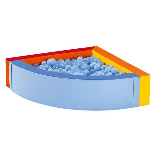 Wesco Wesco Maxi Set Small Corner Pool And Balls, Multi, Foam front-826704