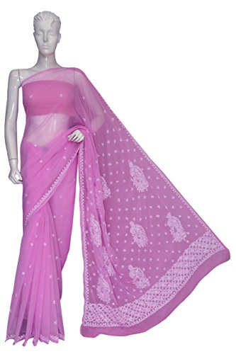 ADA-Hand-Embroidered-Exclusive-Chikankari-Ethnic-Wear-Dress-Casual-Georgette-Saree-A112404