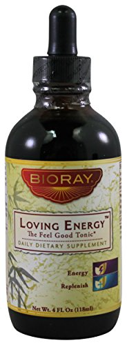 BIORAY: Loving Energy Organic Feel Good Tonic, 4 oz (Bioray Loving Energy compare prices)