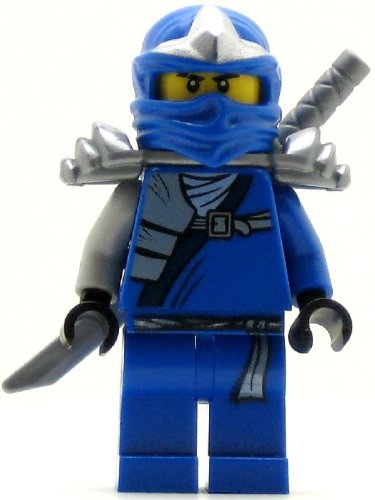 Lego Ninjago Jay ZX Minifigure with Armor and Katana Sword - 1
