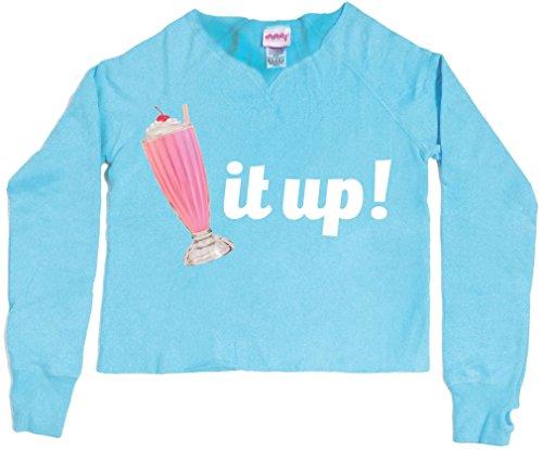iscream Big Girls' 'Cut-Up' Sweatshirt with Thumbholes - Shake It Up, Lg (Shake It Up Sweat It Up compare prices)