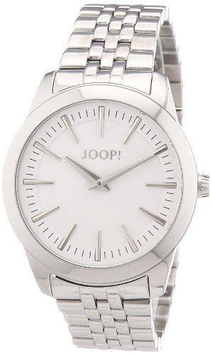 Joop JP101112F05 - Reloj analógico de cuarzo para mujer con correa de acero inoxidable, color plateado