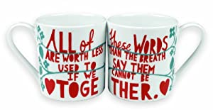 Rob Ryan His & Her Matching Coffee Mug Set