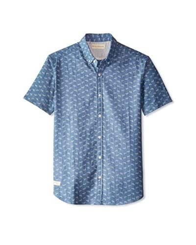 7 Diamonds Men's Silver Spring Short Sleeve Shirt