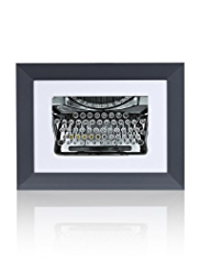 Typewriter Frame Wall Art