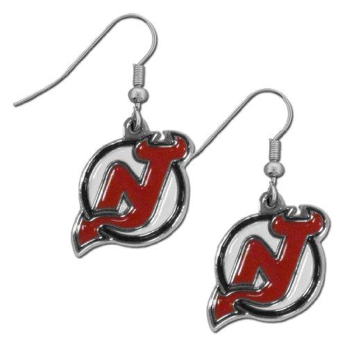 Nhl New Jersey Devils Dangle Earrings
