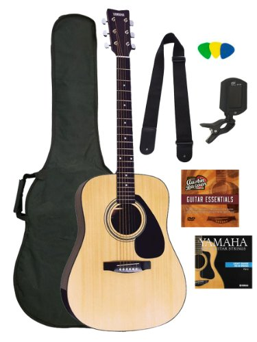 Yamaha Gigmaker Standard Acoustic Guitar Pack, Natural