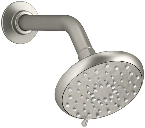 KOHLER K-72425-BN Awaken B110 Multifunction Showerhead, Vibrant Brushed Nickel