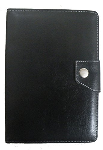 Beatus Executive 7inch Tablet Flip Folio Case Cover Pouch (Black) for IBALL SLIDE Q7218 TAB