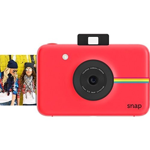 Lowest Prices! Polaroid Snap Instant Digital Camera (Red) with ZINK Zero Ink Printing Technology