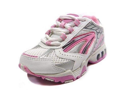 Hlt Teen/Kid Girl Mesh Top Pink Lighted Shoe [Us 13]