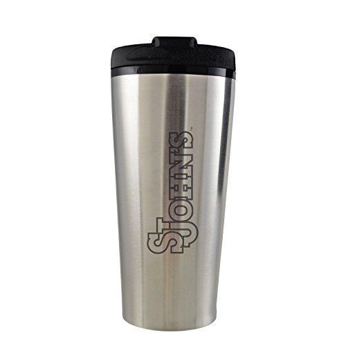 st-johns-university-16-oz-travel-mug-tumbler-silver-by-lxg-inc