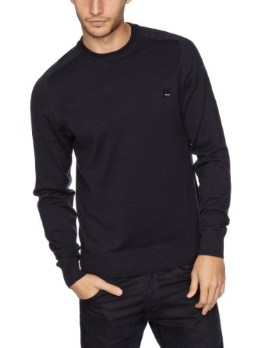 Bench Ofsted B Men's Jumper Dark Navy Blue Small