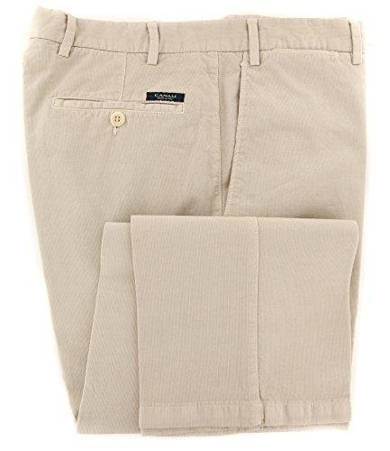 canali-beige-solid-pants-slim-42-58