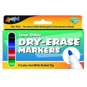 Patch Products Dry-Erase Markers Low-odor 4pk Toy