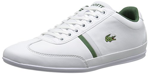 Lacoste Men's Misano Sport 116 1 Fashion Sneaker, White, 9.5 M US