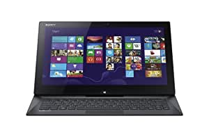 Sony VAIO Duo SVD13215PXB 13.3-Inch Convertible 2 in 1 Touchscreen Ultrabook (1.8 GHz Intel Core i7-4500U Processor, 8GB DDR3, 256GB SSD, Windows 8 Professional) Carbon Black