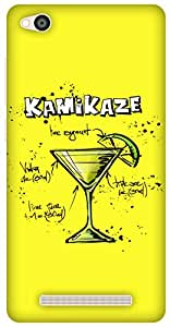 The Racoon Lean Lemon Kamikaze hard plastic printed back case / cover for Xiaomi Redmi 3