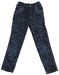 Boyhood Boys' Denim Jeans (j5054-bk-22 _ 11 - 12 Years, Black)