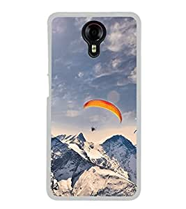 Paragliding in Mountains 2D Hard Polycarbonate Designer Back Case Cover for Micromax Canvas Xpress 2 E313