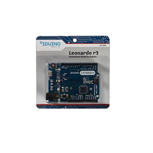 Arduino Compatible Leonardo R3 Development Board Microcontroller ATmega32u4 (Robot Microcontroller compare prices)
