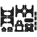 Semoic 3D Printer Accessories For Ooznest Ox Cnc Plates Engraving Machine Construction Board For Openbuilds (Color: Black)