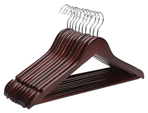 closet-complete-mahogany-wood-suit-hanger-set-of-30