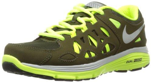 hot sales ce1e9 155a7 Nike Dual Fusion Run 2 Shield GS Big Kids Running Shoes 616697 300 7