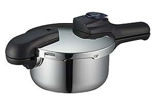 パール金属 クイックエコ 3層底 切り替え式 圧力鍋 2.5L H-5039