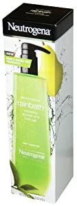 Neutrogena Renewing Shower and Bath Gel Pear & Green Tea 40 Oz
