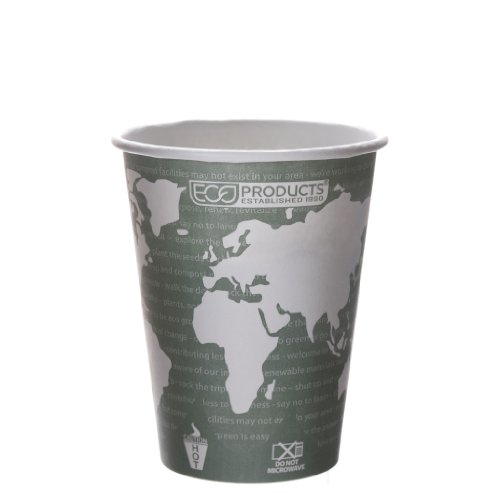 Eco-Products Ep-Bhc12-Wa 12 Oz World Art Hot Cup (20 Packs Of 50)