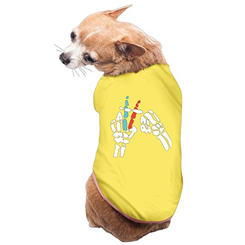 xj-cool-twenty-one-gesture-geste-doggy-costume-t-shirt-yellow-m