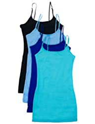 3 or 4 Pack: Active Basic Cami Tanks…