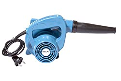 Small Portable Best Multifunctional Lightweight Handheld Electric High Speed Rotary Air Blower Fan Machine for Domestic Home and Industrial Cleaning. Color-Blue. MAA-KU