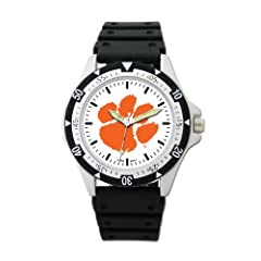 Buy Clemson Tigers Option Watch by Logo Art