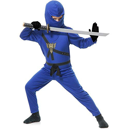 Blue Ninja Avenger Kids Costume