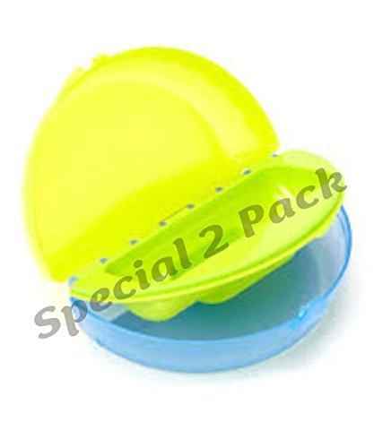 Gerber Graduates Easy Go Folding Bowl, 2 Pk, Lime/Blue front-985832