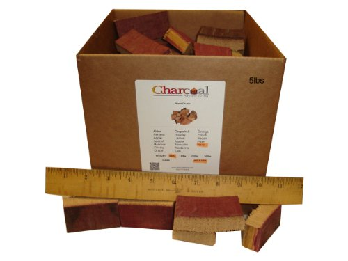 Charcoalstore Wine Barrel Wood Smoking Chunks (5 Pounds)