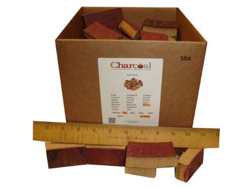 Charcoalstore Wine Barrel Wood Smoking Chunks (5 Pounds)
