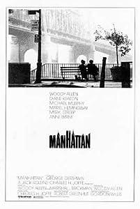 (27x40) Manhattan Woody Allen Movie Poster