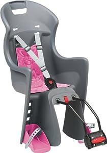 Polisport Kinder Fahrrad-Kindersitz, grau, 67810 by Polisport