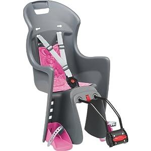 polisport kinder fahrrad kindersitz grau 67810 g nstig. Black Bedroom Furniture Sets. Home Design Ideas