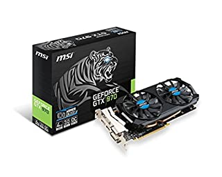 MSI GTX 970 4GD5T OC グラフィックスボード アーマーファン2X搭載 VD5522 GTX 970 4GD5T OC