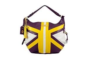 NBA Los Angeles Lakers Suite Team Hobo Bag, Purple by Littlearth