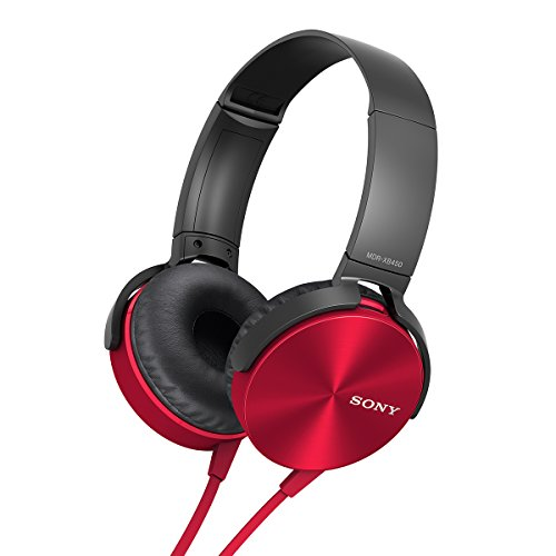 Sony-MDR-XB450AP-On-Ear-Extra-BassXB-Headphones-with-Mic-Red