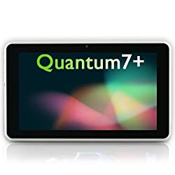 ** LAUNCH PRICE ** TABTRONICS QUANTUM7+ 8GB 1.2GHz - Max 1.5Ghz - DUAL CORE CPU - QUAD CORE GPU 1024 x 600 Capacitive Android 4.1.1 ** JELLY BEAN ** Tablet PC 7