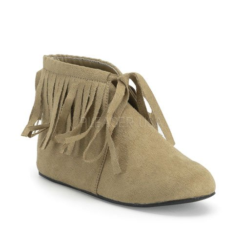 Childrens Microfiber Indian Costume Moccasins