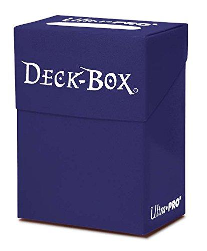 Ultra Pro 80 Card Deck Box - Blue