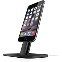 Twelve South HiRise Adjustable Charging Stand for iPhone/iPad Mini (Black)