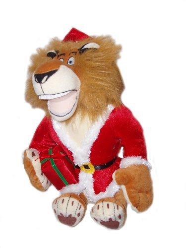 Merry Madagascar Christmas Plush Alex the Lion - 1
